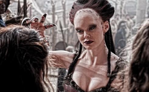 Конан-варвар. Роуз МагГоун в роли ведьмы Марик
