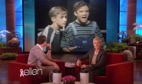 Джастин Тимберлейк и Райан Гослинг - детские фото