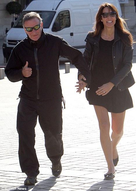 Робин Уильямс с супругой Сьюзан Шнайдер