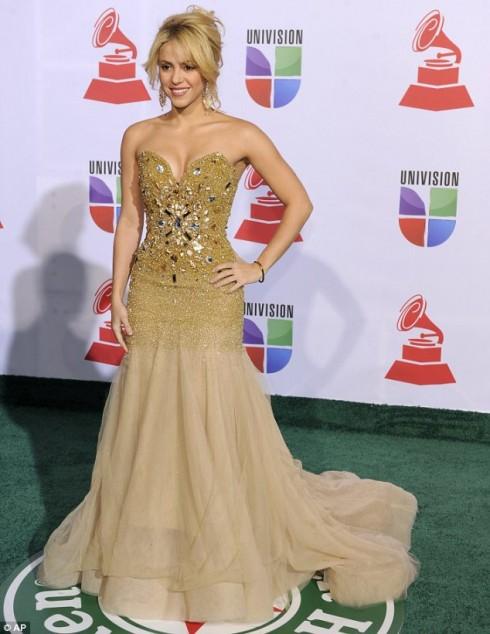 Колумбийская певица и танцовщица Шакира