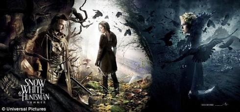 Белоснежка и Охотник - первый постер к фильму
