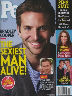 Брэдли Купер - самый сексуальный мужчина по версии журнала People