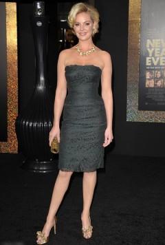 """Кэтрин Хейгл на премьере фильма """"Накануне Нового года"""""""