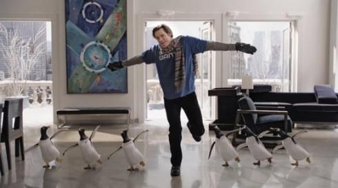 Пингвины мистера Поппера. Кадр из фильма.