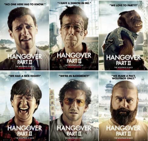 Мальчишник 2: Из Вегаса в Банкок. Главные действующие лица.