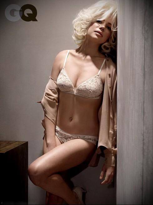 Мишель Уильямс в фотосессии для мужского журнала GQ