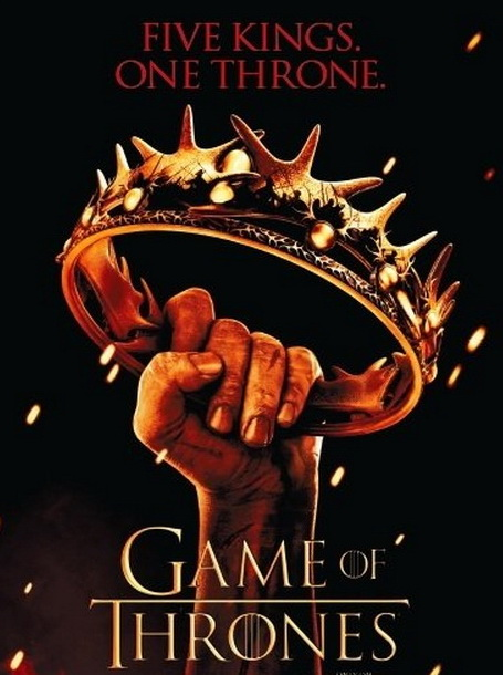 Игра престолов (Game of Thrones) Постер к 2 сезону телесериала.